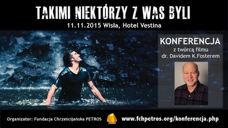 Zapraszamy na konferencję z twórcą filmu - 11.11.2015 w Wiśle